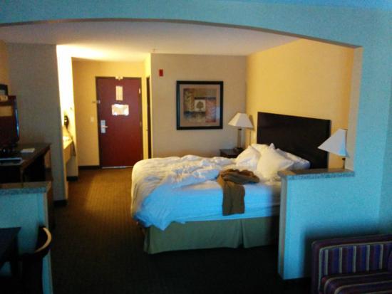 Holiday Inn Express Portland - Jantzen Beach: Room