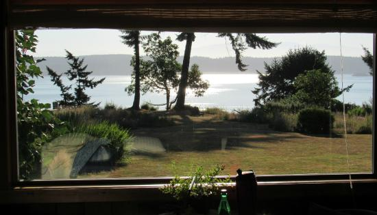 The Bluff on Whidbey: The breathtaking view from our huge picture window