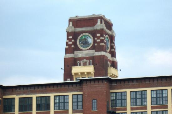 Old RCA Victor plant across the street - Campbell's Field.