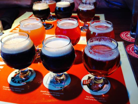 The Ale House: Beer tasting