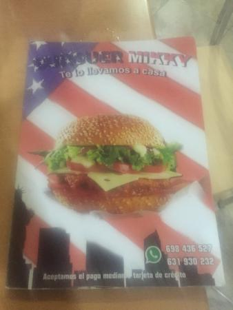 Cafeteria Burger Mikky