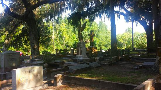 Fernandina Beach, Флорида: Bosque Bello Cemetery