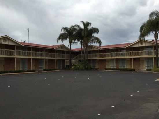 Comfort Inn Blue Lagoon: Main part of motel......after checkout!