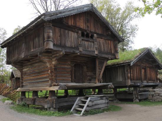 Foto de museo del pueblo noruego oslo replicas de casas - Casas prefabricadas nordicas ...