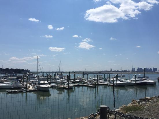 Belle Isle: View from outdoor seating