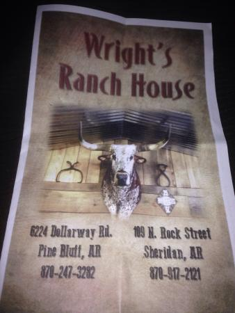 Wright's Ranch House BBQ