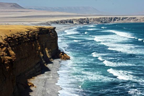 Регион Ика, Перу: Playa Zupay en la Reserva Nacional