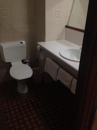 Dog Rock Motel: Bathroom is like a dark dungeon