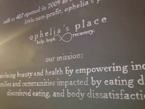 Ophelia's Place- Cafe at 407 : Mission