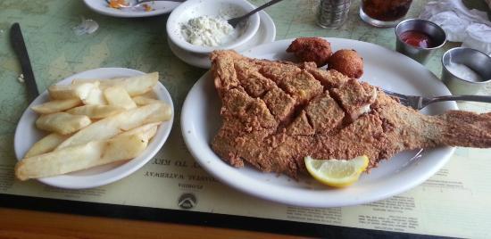 The Mariner: Fried whole flounder
