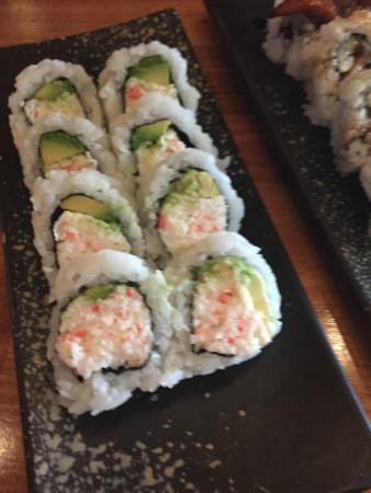 AMI Japanese Restaurant: California Roll