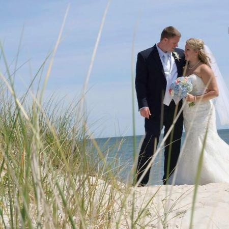 Surf and Sand Beach Motel: Our wedding!