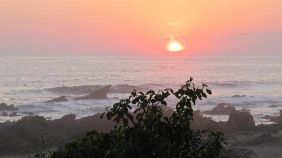 Casa Las Piedras: Sunset