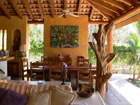 Casa Las Piedras: Dining area