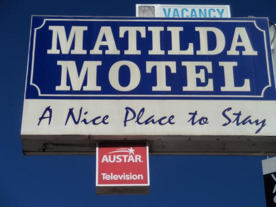 Matilda Motel: a nice place to stay