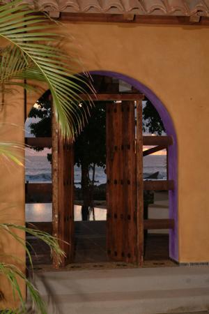 Casa Las Piedras: Entrance to Casa