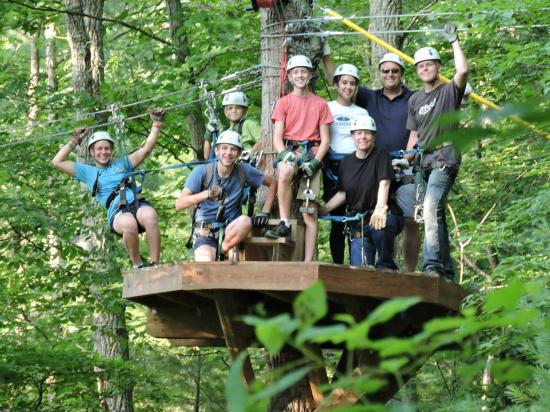 Bear Mountain Ziplines : Group Photo