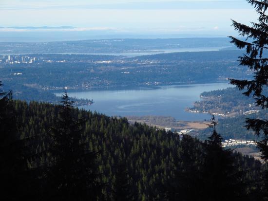 Tiger Mountain : Lake Sammamish from West Tiger 1