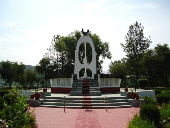 Pithoragarh, Ινδία: The beautiful Memorial.