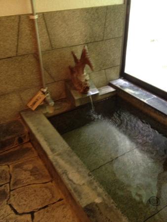 Yusako Onsen Ryokan: 浴場