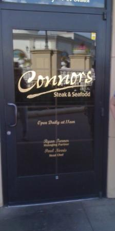 Connors Steak & Seafood: Connors Steak and Seafood -Excellent for lunch or dinner