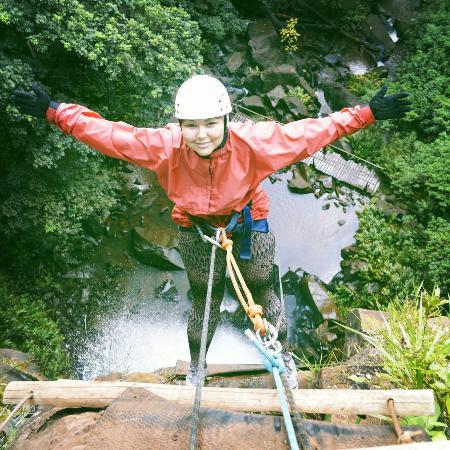 Agua Branca Waterfall: Canionismo