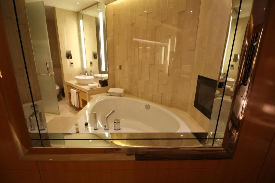 Big Bathroom With Big Jacuzzi Tub Picture Of The Meydan Hotel