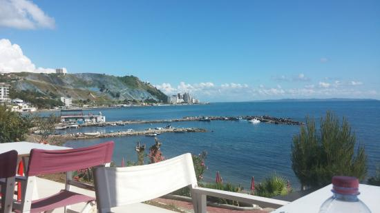 vollga durres quiet and relaxing beach view picture of durres