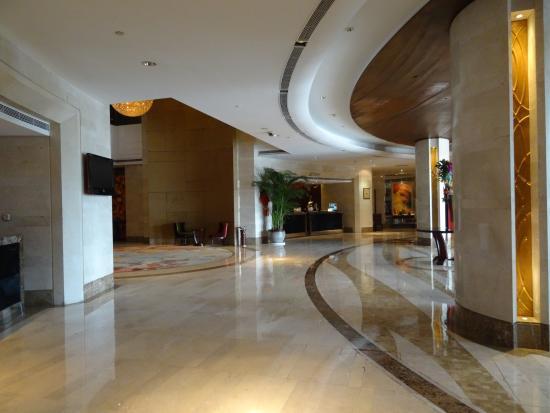 Mingde Grand Hotel Shanghai : hotel lobby