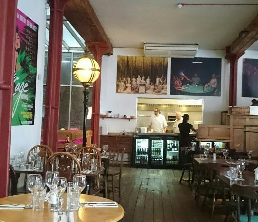 Menier Chocolate Factory Restaurant Review