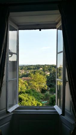 Maison Bellachonne: Vue de la chambre