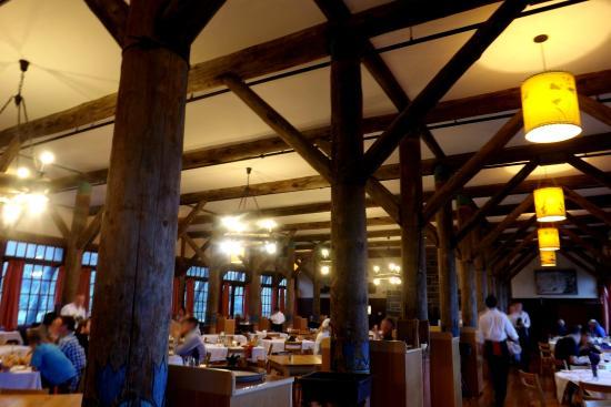 inside paradise inn picture of mt rainier paradise inn restaurant rh tripadvisor com