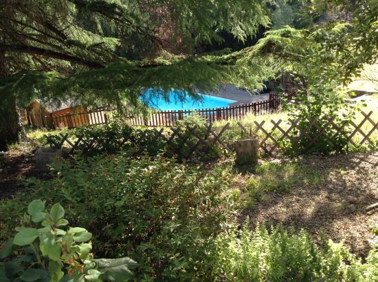 La Cheminee d'Angele : Vue de la terrasse
