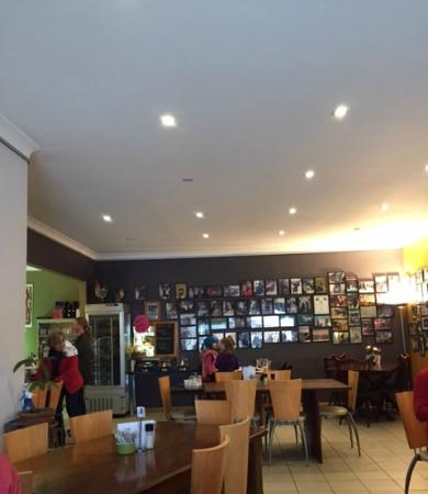 Meridian Cafe: Cosy atmosphere