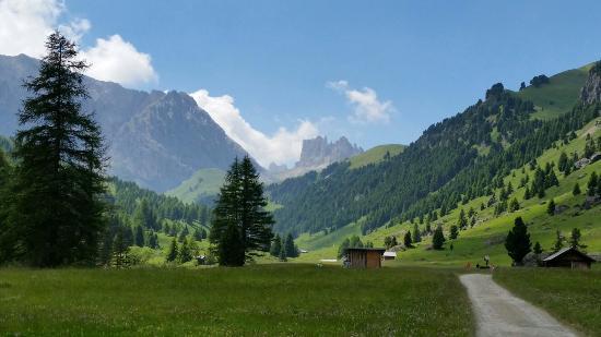 Rifugio Micheluzzi : Panorama e gusto