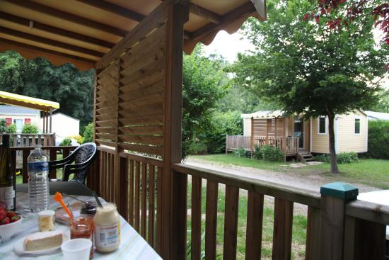 Camping ClairVacances : The bungalow