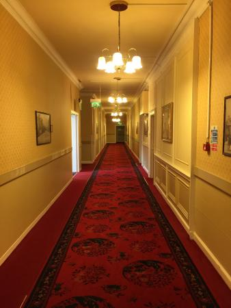 Peebles Hydro: Creaky Floors. Old Fashioned Design. A Charming Old Hotel.  But