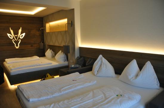 Hotel Gerl : Our family-room