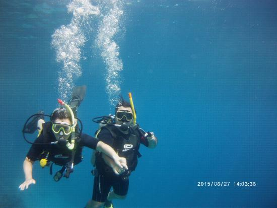 Mirage Divers Diving Center: Eszter and Peter