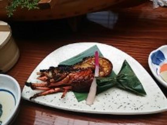 Tokiwaya : 伊勢海老の鬼殻焼