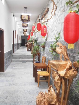 Yangshuo Dongling Resort: Passage to room