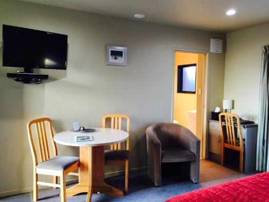 Kaikoura Gateway Motor Lodge: The hotel is nice and clean. Parking is free here.