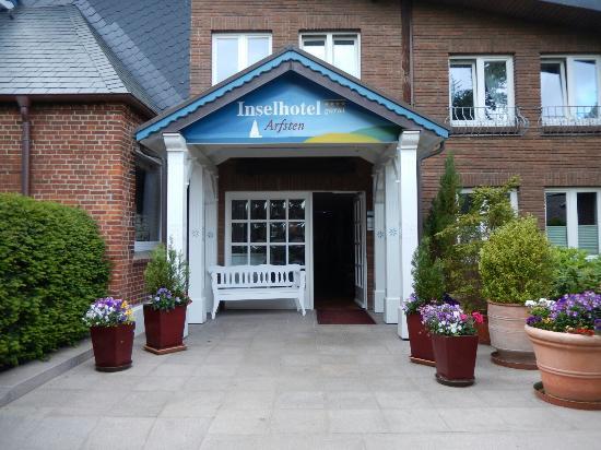 Inselhotel Arfsten: Hoteleingang