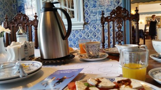 Inselhotel Arfsten: Frühstück im Pesel