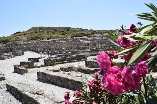 Kalavarda, Greece: Sito archeologico