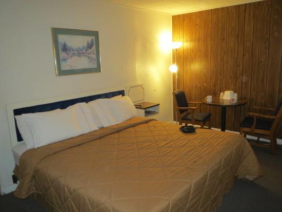 Budget Inn: King værelse