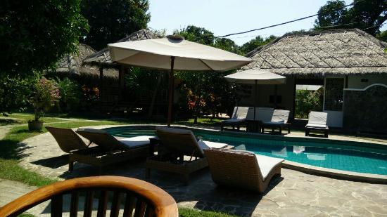 Si Pitung Village : View from the breakfast area