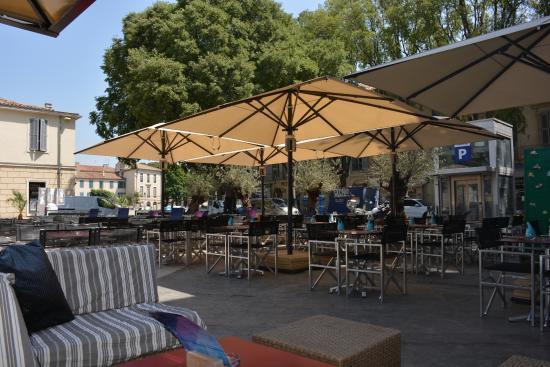 Royal Hotel: Blick ins Restaurant/Bar