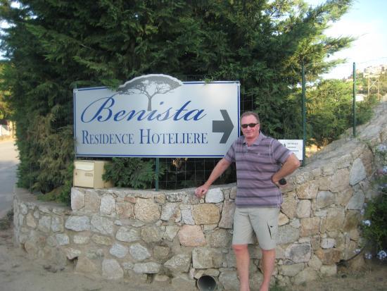 Residence Benista: entrance