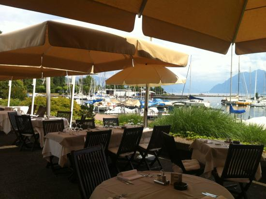 vaste et 233 l 233 gant int 233 rieur picture of le restaurant du port pully tripadvisor